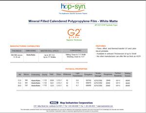 G2 hopsyn synthetic paper specsheet_img